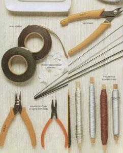 Инструменты вышивки бисера